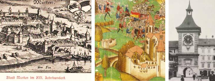 Murten historische Bilder